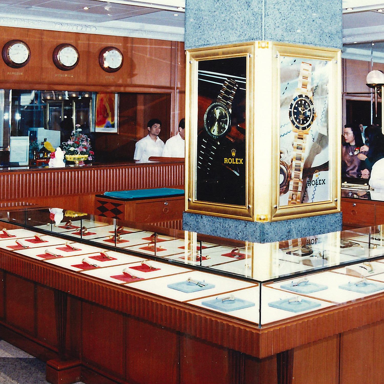 Inside Siam Swiss the Original Rolex Boutique