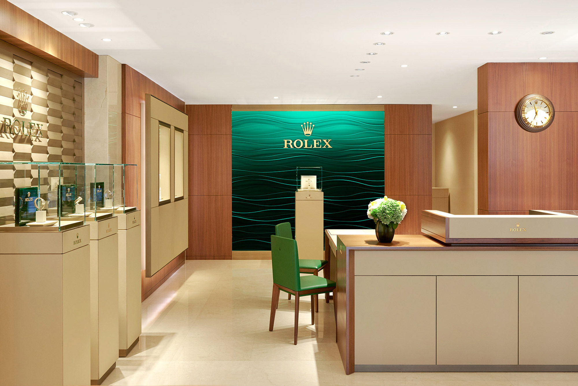 Siam Swiss Rolex Boutique at Central Bangna Shopping Mall